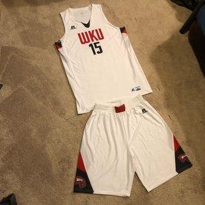 WKU Basketball Uniform